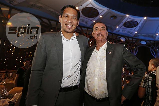 June Mar Fajardo glad to follow mentor PBA legend Mon Fernandez's footsteps