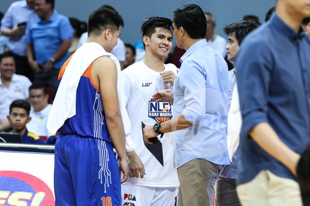 Mixed emotions for TNT coach Bong Ravena as key win comes against misfiring son Kiefer