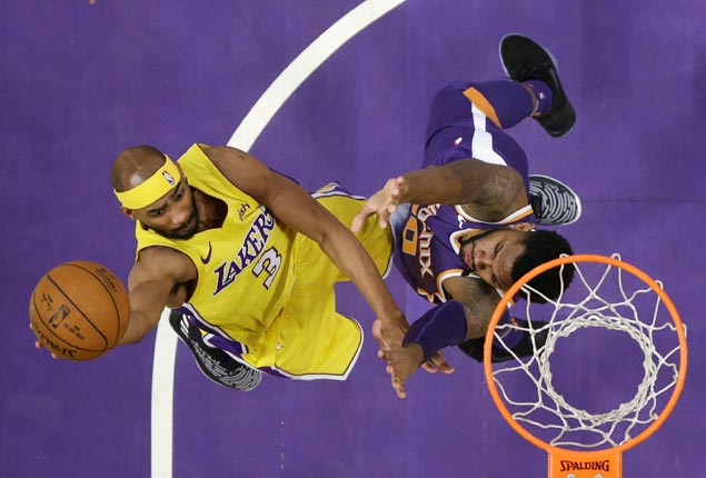 Lakers waive veteran guard Corey Brewer, recall big man Thomas Bryant from G League affiliate