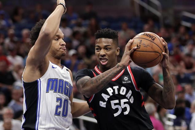 Raptors rally late to send Magic to seventh straight loss