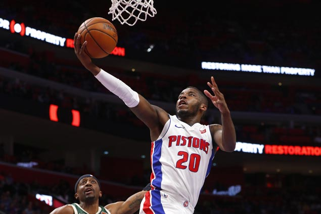 Pistons overpower Bucks in the paint to end three-game slide