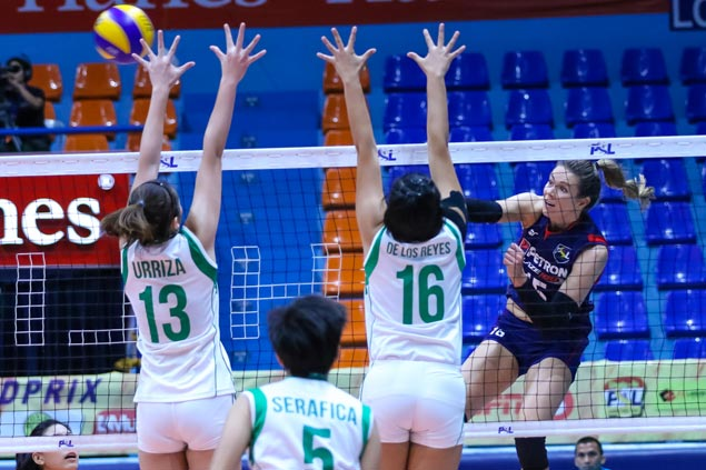 Petron takes solo lead in PSL Grand Prix with quick win over new team Smart