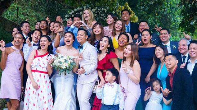 Cha Cruz transforms from 'Miss Everything' into Mrs. Behag in Tagaytay wedding