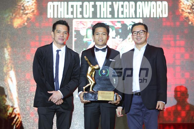 Jerwin Ancajas crosses out item on bucket list by winning PSA Athlete of Year award