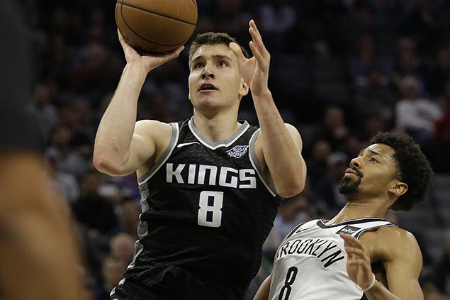 Bogdan Bogdanovic comes up clutch in overtime as Kings outlast Nets
