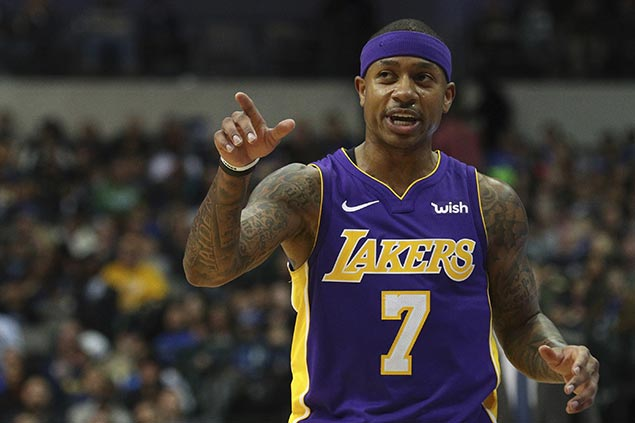 Thomas stays confident after rough year from Celtics star to Cavs castaway to Lakers backup