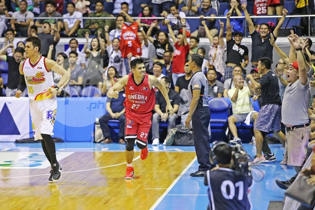 Ginebra outlasts Rain or Shine in triple overtime, secures mid-table place in playoffs
