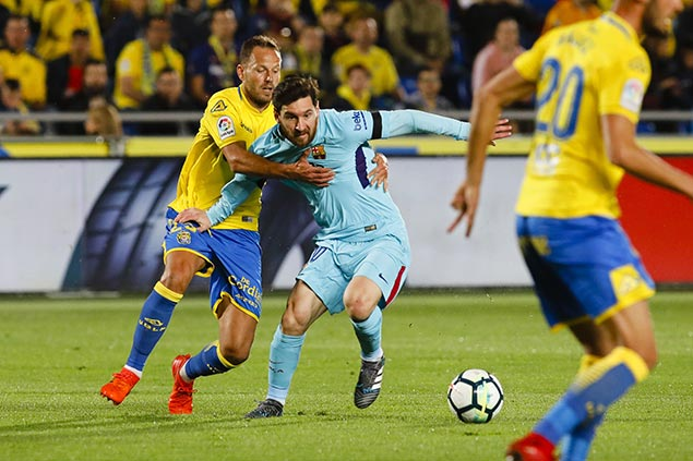 Barcelona held to draw by Las Palmas ahead of crucial clash vs Atletico Madrid