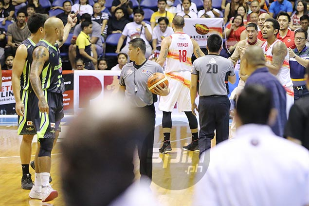 Kelly Nabong tossed early after furious exchange with refs, Phoenix coach Alas