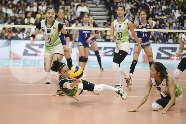 Lady Spikers beat Lady Eagles in four to get back on track, regain share of second spot