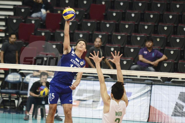 Ateneo, FEU score big wins to share lead after first round of UAAP volley elims