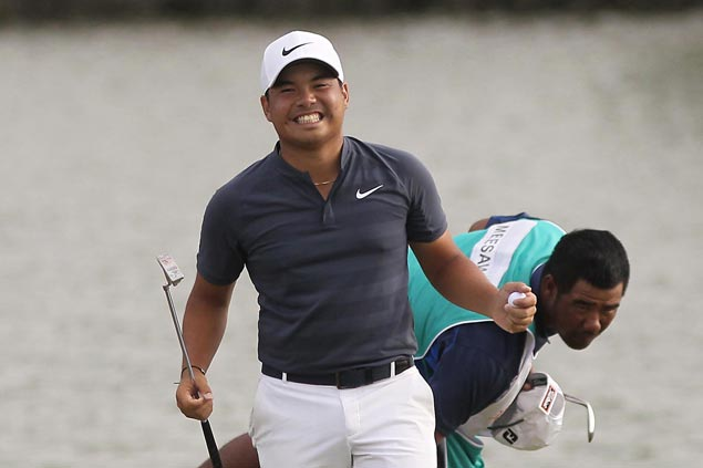 Miguel Tabuena bags second Philippine Open title with playoff win at The Country Club