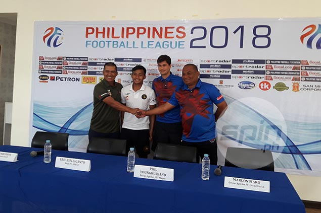 Phil Younghusband eyes strong start as Davao Aguilas open PFL campaign against Kaya Iloilo
