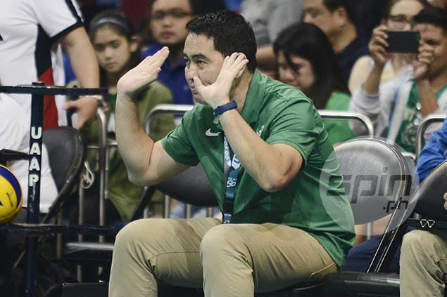 Ramil de Jesus still sees rooms for improvement but lauds La Salle for bouncing back strong