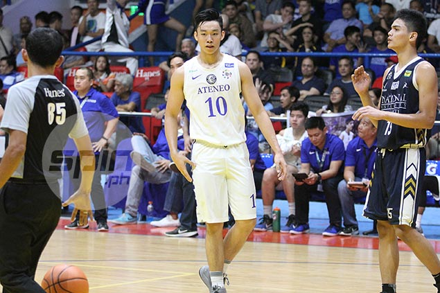 Dave Ildefonso to decide on joining dad, brother in NU or staying in Ateneo by end of March