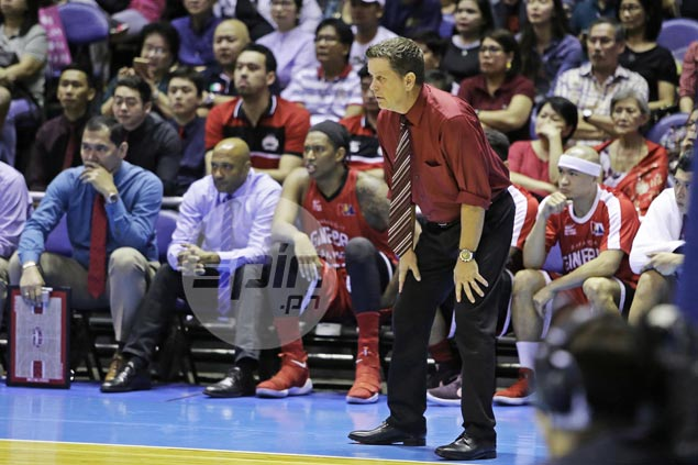 Greg Slaughter at risk of missing Ginebra series vs ROS due to sprained ankle