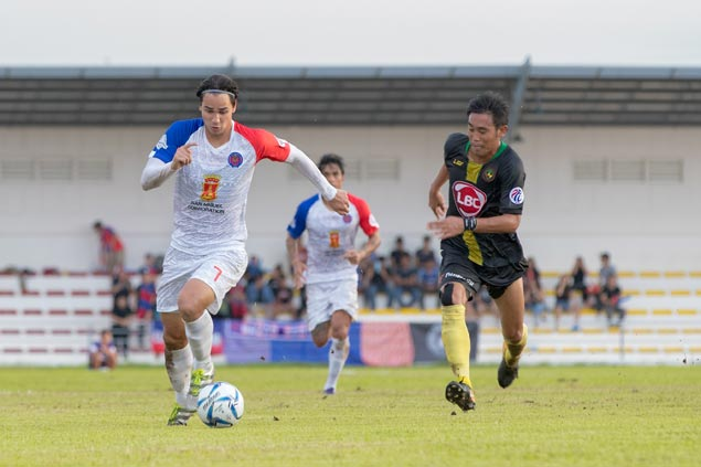 James Younghusband nets second-half brace as Davao Aguilas salvage draw with Kaya Iloilo