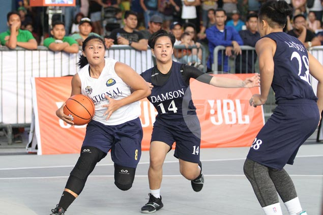 NU Lady Bulldogs stamp class anew after bagging inaugural UAAP 3x3 title over Adamson