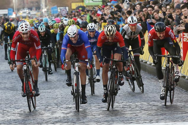 Arnaud Demare tops opening stage of Paris-Nice race in photo finish