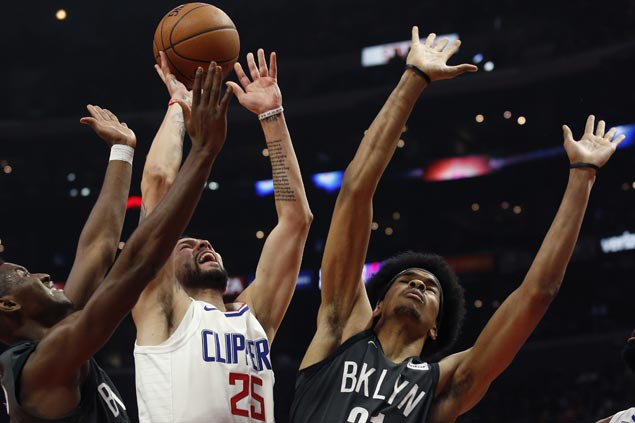Austin Rivers hits go-ahead trey as Clippers hand Nets ninth straight road loss