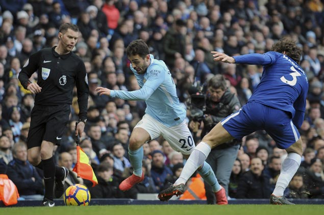 City victory over Chelsea highlights gulf in class between EPL leaders and the rest