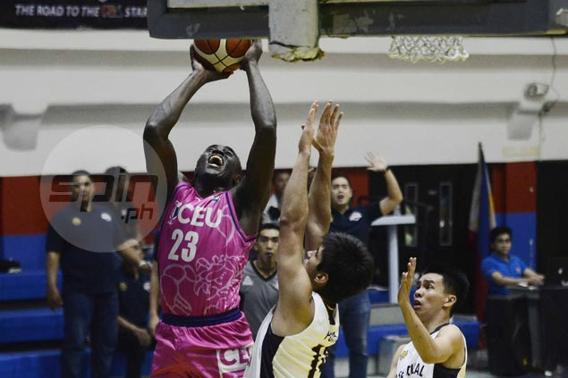 Rod Ebondo hits last-gasp basket to lift CEU Scorpions over JRU Bombers