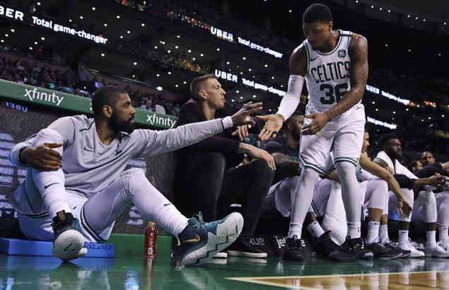 Kyrie Irving to sit out Celtics game against Bulls due to sore knee