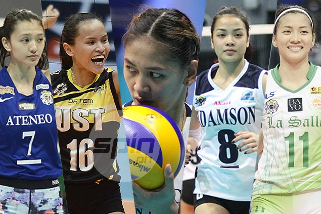 Surprising women's volleyball contenders emerge halfway through UAAP Season 80
