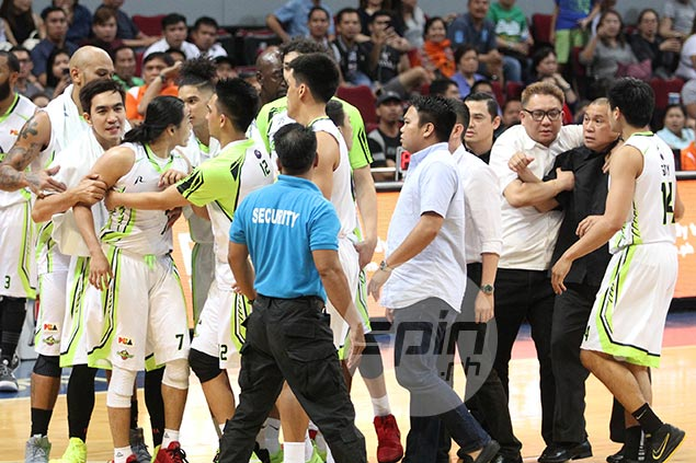 Shouting match with Terrence Romeo a non-issue for Pido Jarencio; 'Nagkasarapan lang'