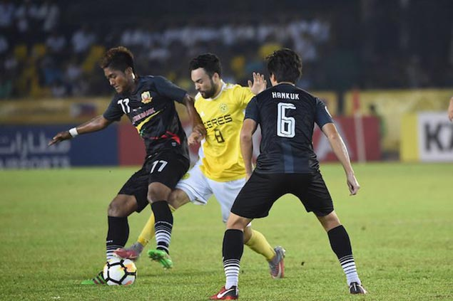 Ceres Negros turns back Shan United to tighten grip on group lead in AFC Cup