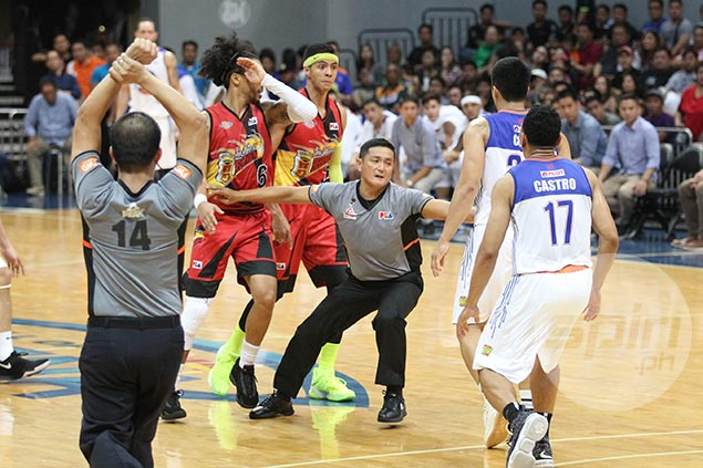 Jericho Cruz says hit on Arwind Santos just his way of standing up for TNT teammates