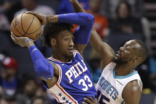 Robert Covington shows way as balanced Sixers deal Hornets playoff hopes another blow