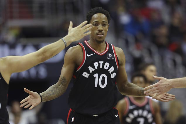 Raptors overcome tough challenge from lowly Hawks to extend win run to five