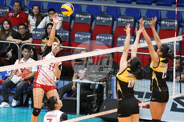 UE Lady Warriors rack up rare back-to-back wins with four-set victory over skidding UST Tigresses