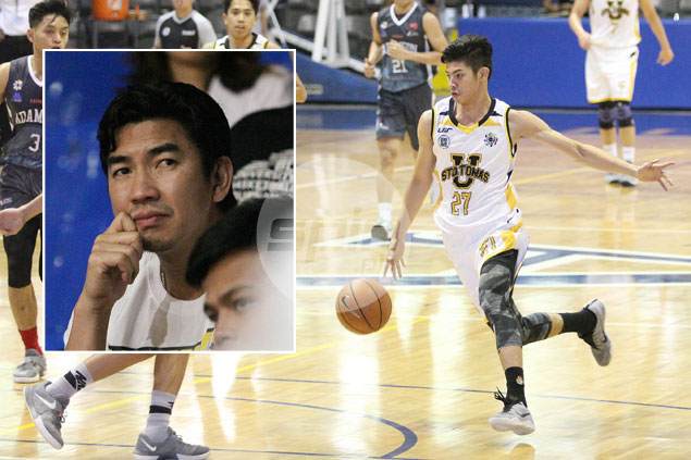 Ayo expects recruit CJ Cansino to immediately play big role for UST Tigers