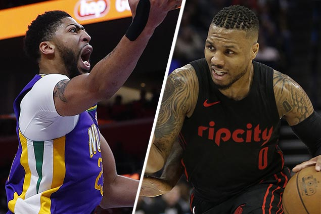 Davis, Lillard make noise in MVP debate with Pelicans, Blazers rolling