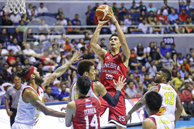 Ginebra sets up grudge match against SMB after completing sweep of Rain or Shine