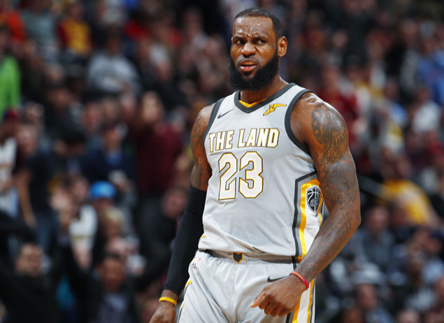 Despite rocky Cavs season, LeBron sees one clear MVP winner: 'I would vote for me'