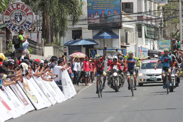 El Joshua Carino tows Navy teammates to podium sweep in Ronda Stage Five