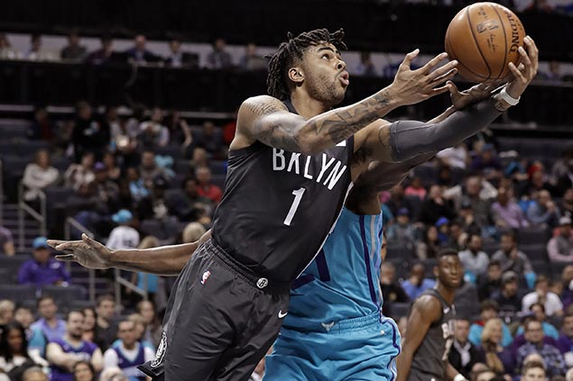 Nets ride late blitz to halt four-game slide and deal Hornets' fifth straight loss