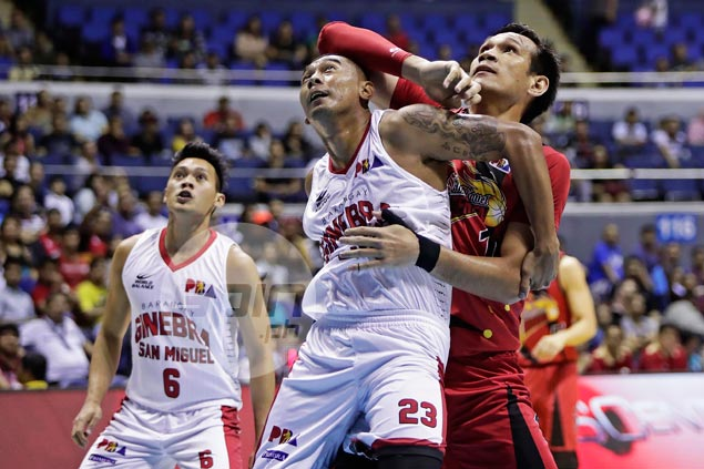 Fajardo didn't have to do any heavy lifting as SMB snipers shoot down Ginebra