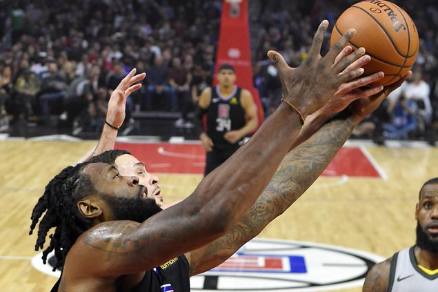 DeAndre Jordan posts huge double-double as Clippers add to Cavs woes
