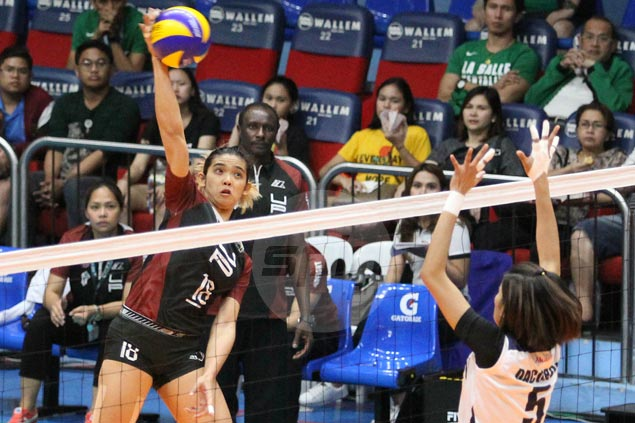 Lady Maroons edge Lady Falcons in five-set thriller in UAAP women's volley