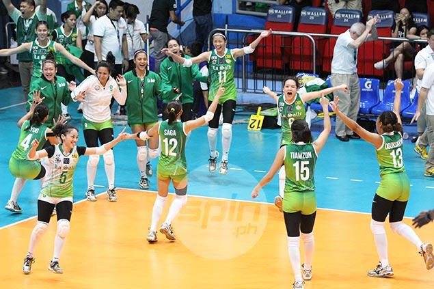 Kim Dy on vengeful win vs NU: 'Tatak ng La Salle na kapag natalo, babawi kami'