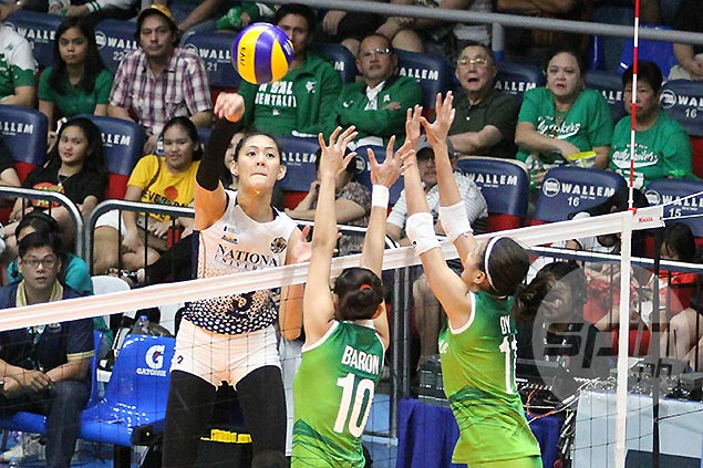 Jaja Santiago glad to see Lady Bulldogs hold heads high despite tough loss to La Salle