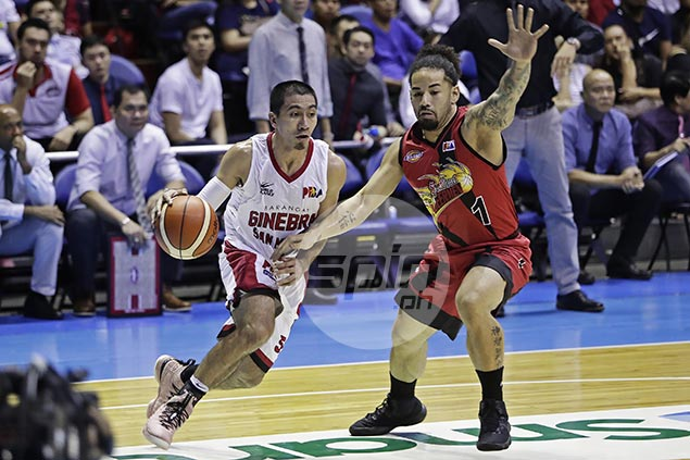LA Tenorio offers no excuse even as weary Ginebra 'a step slow' in Game 1 loss