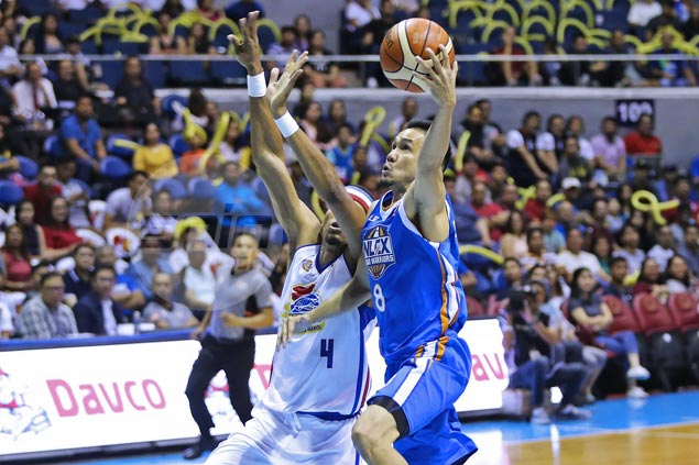 Cyrus Baguio shows he still has plenty of gas left in the tank for NLEX