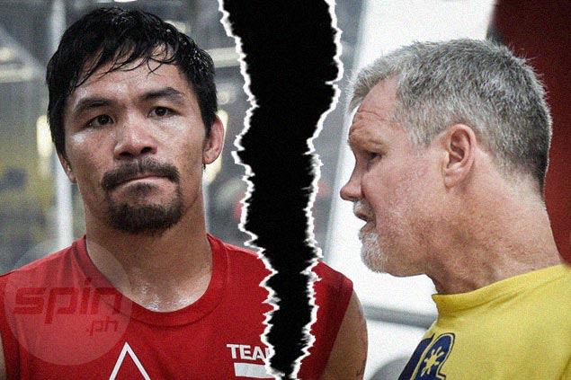 Freddie Roach keeps mum on rumored break-up with prized ward Pacquiao