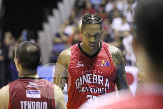 Joe Devance refuses to dwell on costly five-second violation late in Ginebra loss