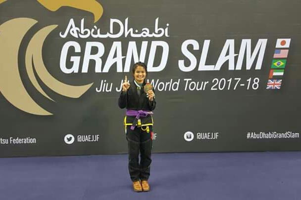 Meggie Ochoa wins gold in London leg of Abu Dhabi Grand Slam Jiu Jitsu World Tour